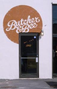 What vegan looks like at a place called....Butcher and Bee?