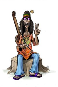 So you're not a crunchy hippie?