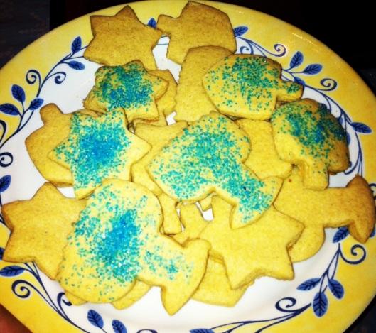 Vegan Chanukah cookies