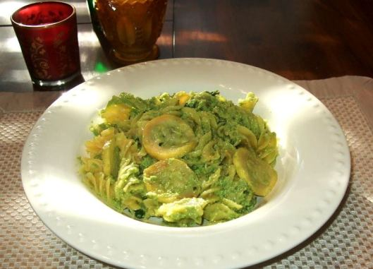 I actually made this dish, Avocado Pesto Pasta, before I got the cookbook because it was featured on VegNews. Click the pic to go to the recipe!
