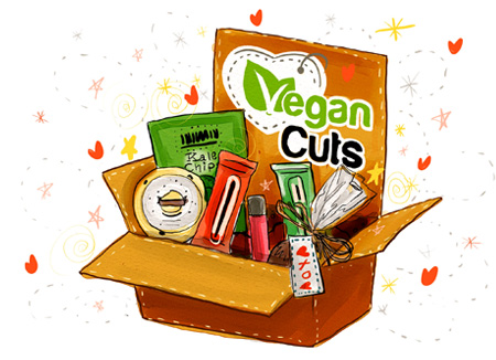 Vegan goody surprise box? Yes, please.