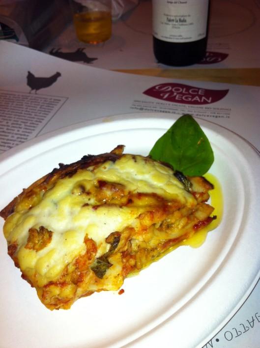 Behold, vegan lasagna exquisiteness.