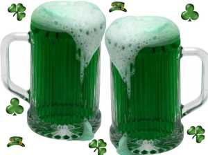 Go Green for St. Patty's Day