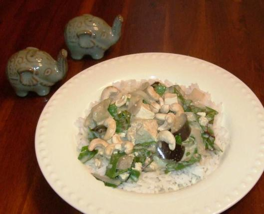 This green curry from FatFree Vegan Kitchen is flavorful and healthy!