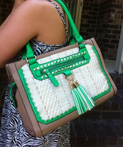 My new Melie Bianco purse!
