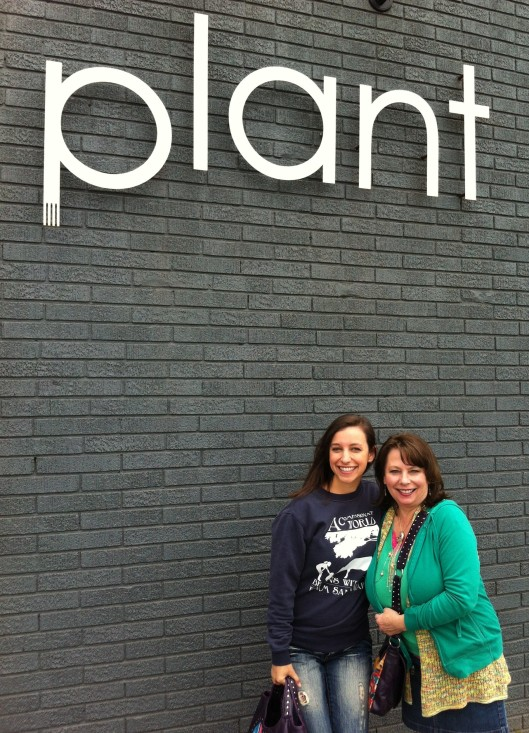Plant me and mom