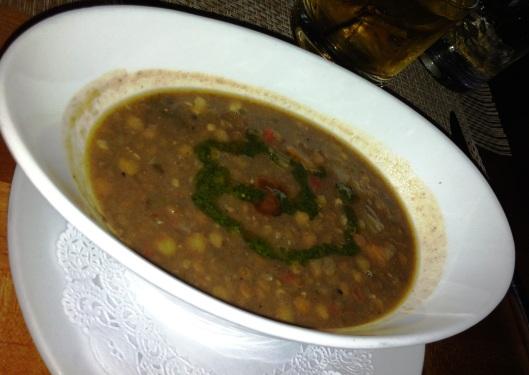 Rezaz lentil soup