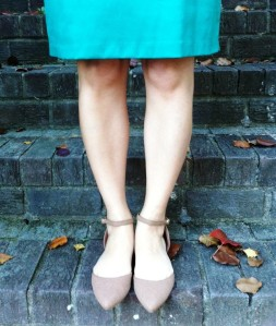 Cute non-leather flats from Vegan Chic