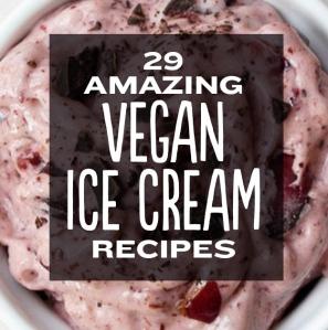 vegan ice cream recipes