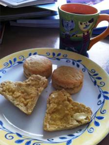 vegan biscuit brunch recipe