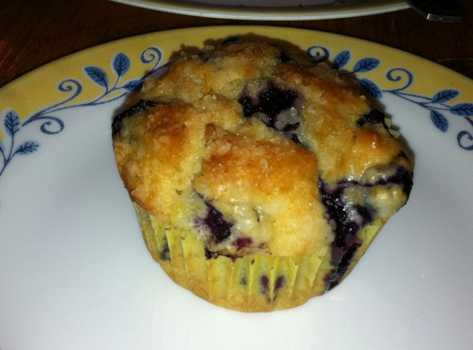 Veganized Lemon-Blueberry muffins