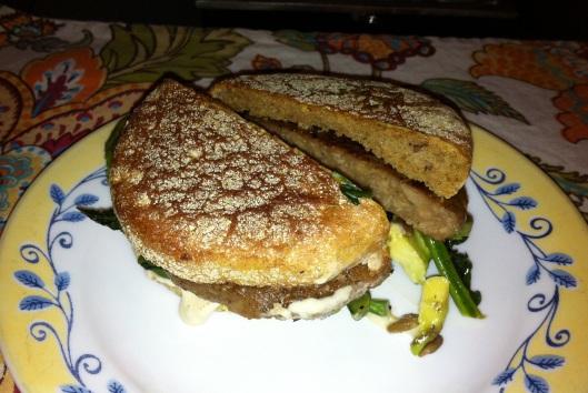 Shamrock Breakfast Sandwiches from Healthy.Happy.Life.