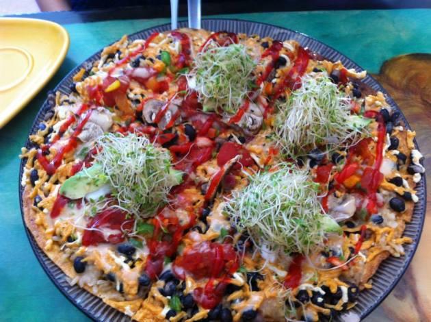 Dell'z Uptown Vegan Jazzy Pizza