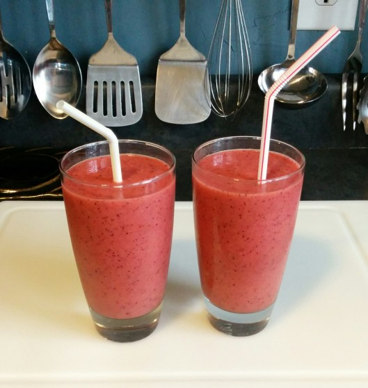 And the smoothies themselves!